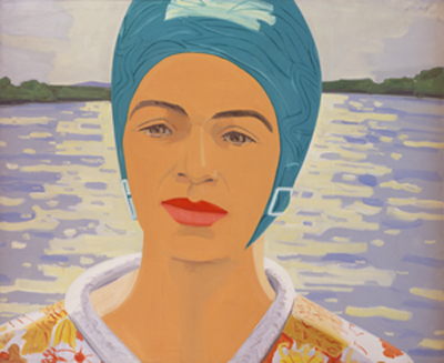 Alex Katz Ada Painting