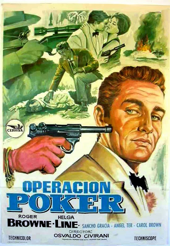 Operazione Poker-OPERACIÓN PÓKER (AGENTE 0S-14)-Osvaldo Civirani , 1966  Operacion+Poker+poster+02