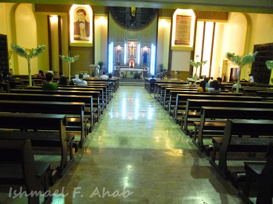 Interior of Saint Dominic Savio Church