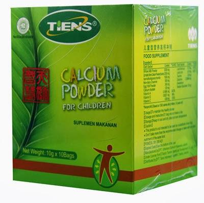 suplemen peninggi badan tiens kalsium anak