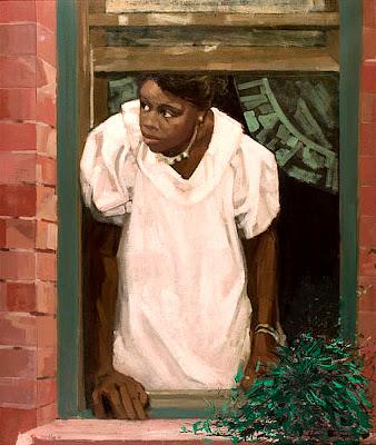 Ernest Crichlow, Window, 1980