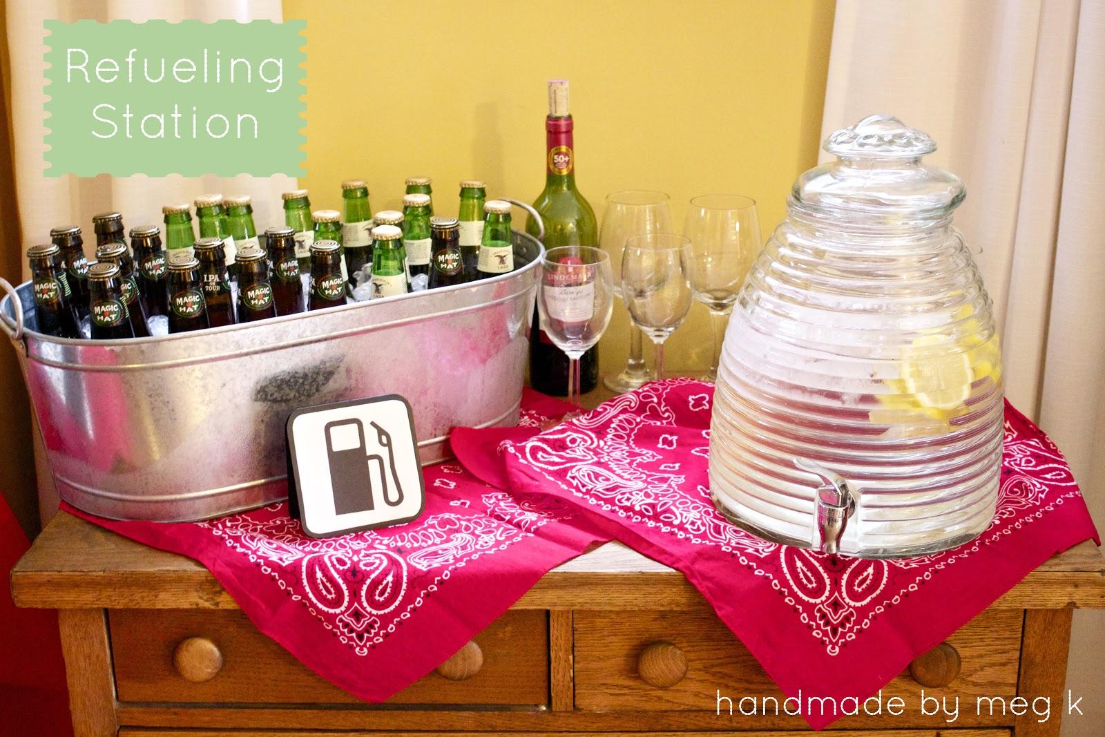 Handmade By Meg K Car Birthday Party Diy Details