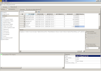 1с внутренняя структура файла конфигурации: