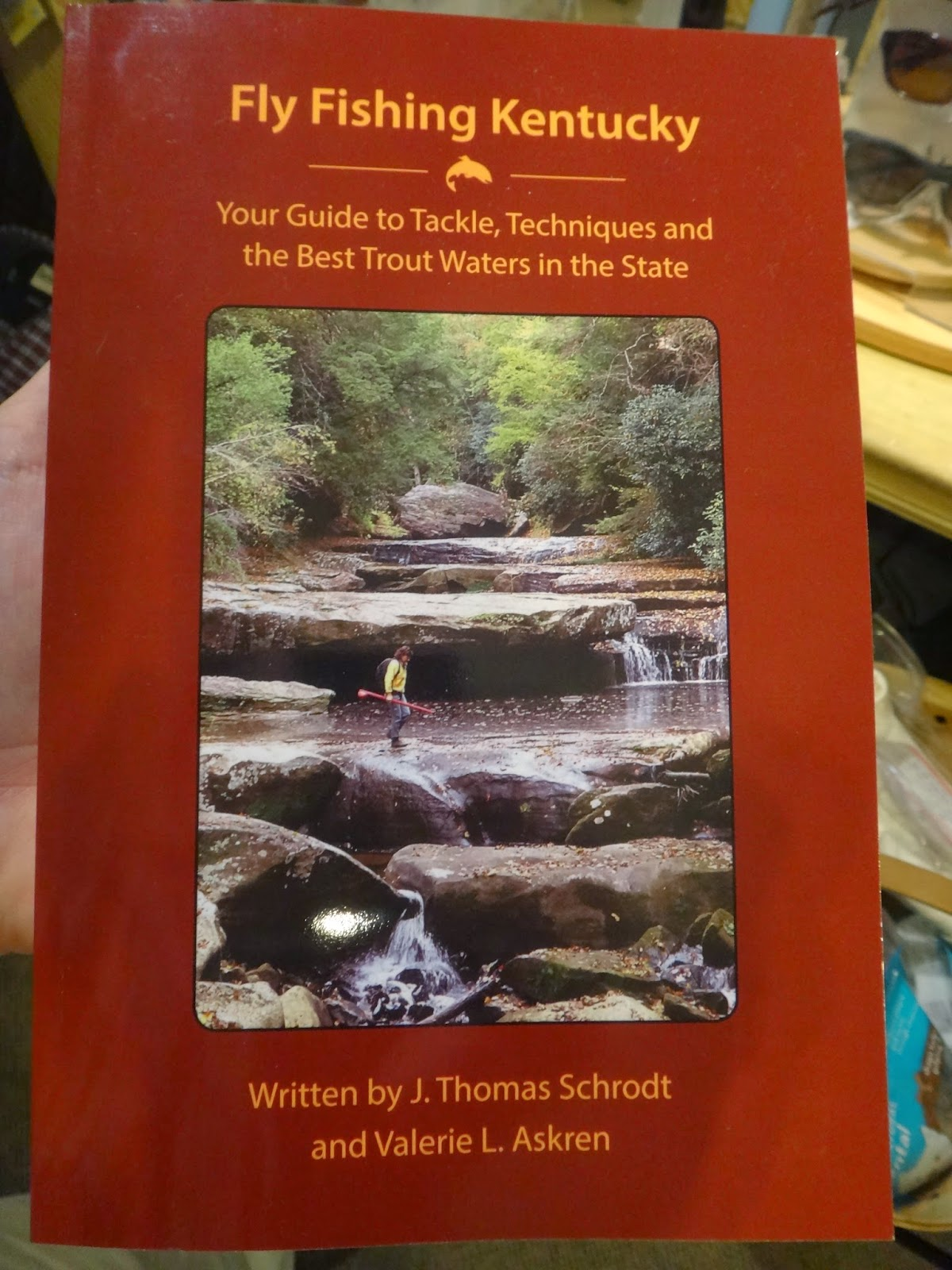 D h new book in the shop fly fishing kentucky for Fly fishing kentucky