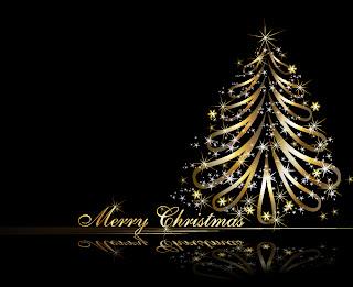 黄金のクリスマス・ツリー golden christmas tree vector イラスト素材