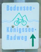 Bodensee-Königssee Radweg