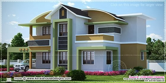 1568 sq-ft house elevation