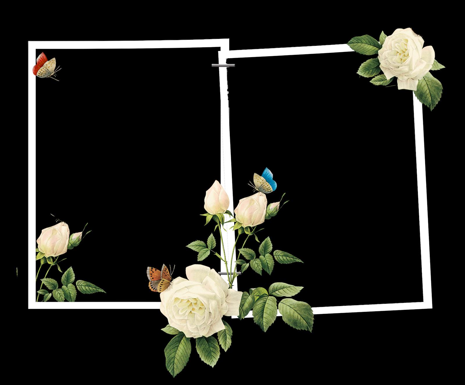 Marcos gratis para fotos marcos para fotos png florales - Marcos de fotos pared ...
