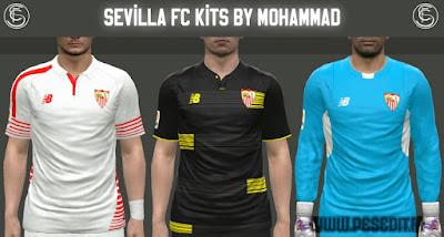 PES 2015 Sevilla FC 2015/16 Kits by MoHaMmAd