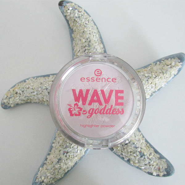 essence Wave Goddess Limited Edition highlighter powder