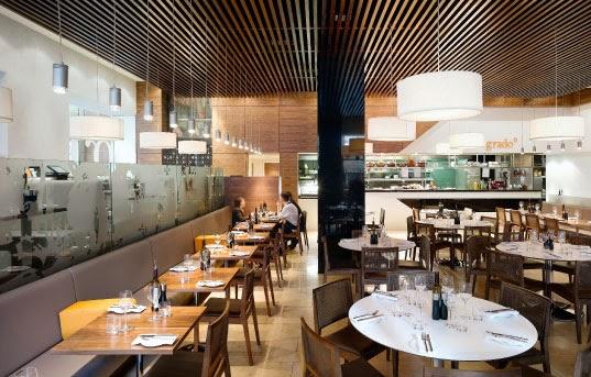 Imagine these restaurant interior design grado