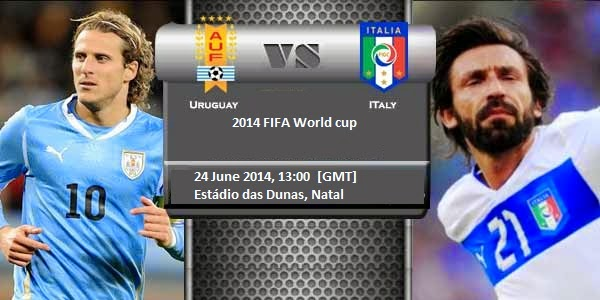 Italy vs. Uruguay live 2014 FIFA WORLD CUP