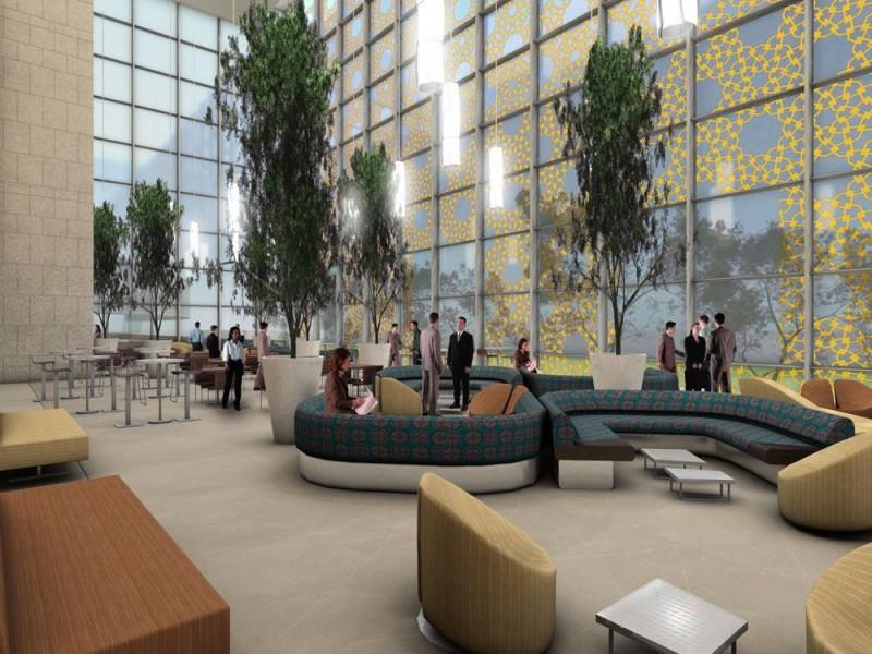 University hospital in dubai uae interior contemporer - Interior design courses in dubai ...