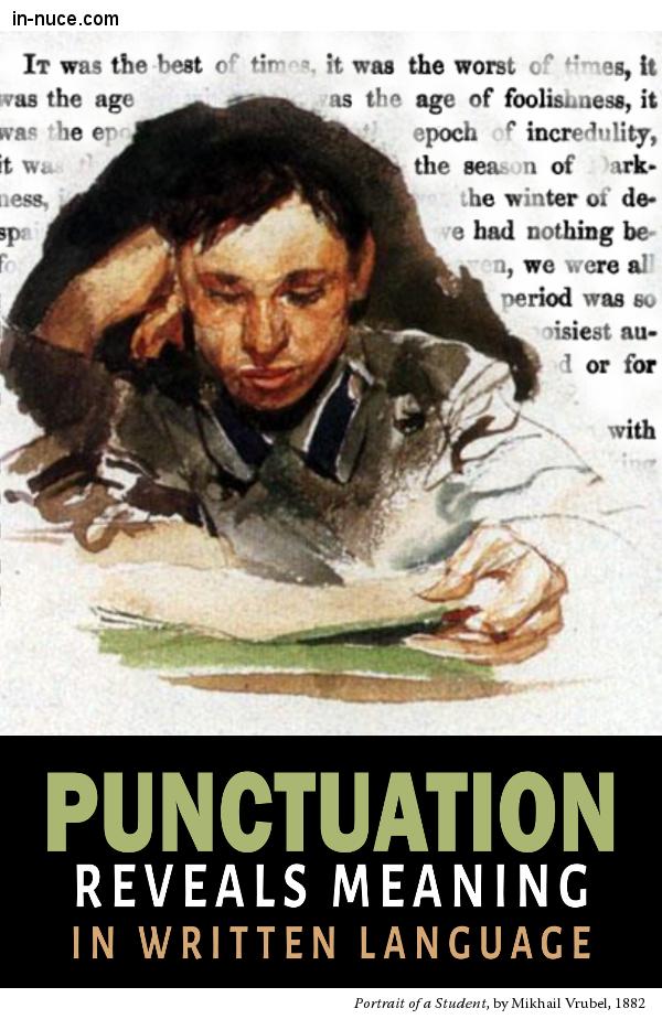in-nuce.com punctuation