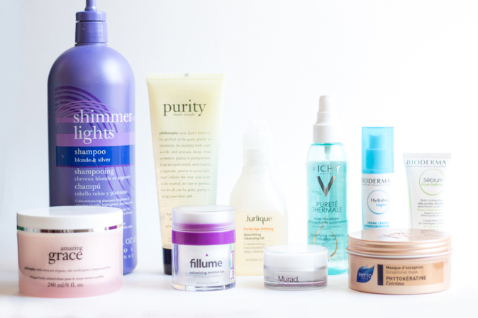 skin and hair care favourites of 2015