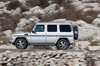 2012 New Mercedes G350 BlueTEC facelift upgrade refresh restyled change generation official press media source  off-road