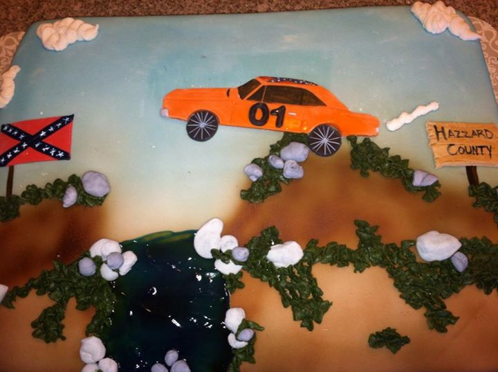 Dukes of Hazzard Cake
