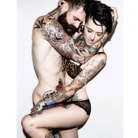 Kate Van Doren and Ricki Hall by Leonardo Corredor