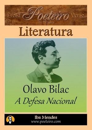 A Defesa Nacional (Discursos), de Olavo Bilac gratis pdf