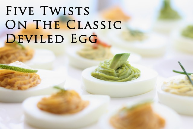 Five Twists on the Classic Deviled Egg Recipe by Barefeet In The Kitchen