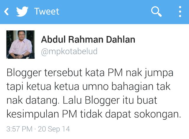 Blogger UMNO Tabur Fitnah?!