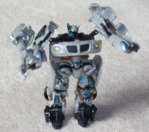Transformers action figure.