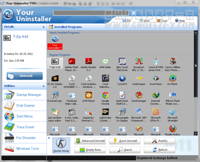 Your Uninstaller Pro 7.4 2011 Full With Key