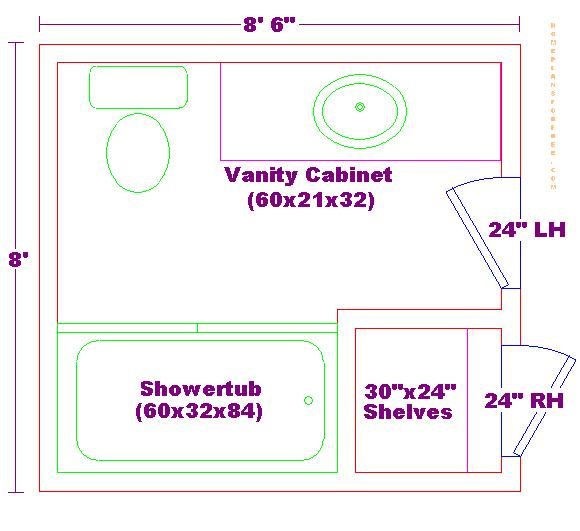 Foundation dezin decor bathroom plans views Bathroom floor plans 7 x 8