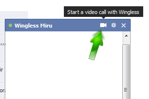 Facebook video calling setup 2