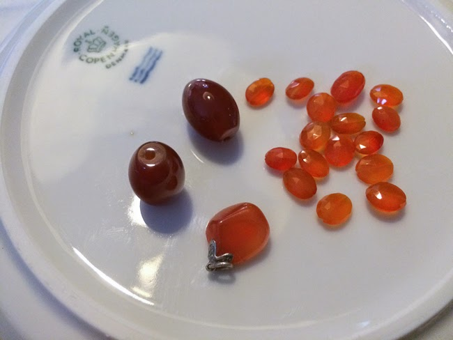 Kaffesoesters Carnelian collection