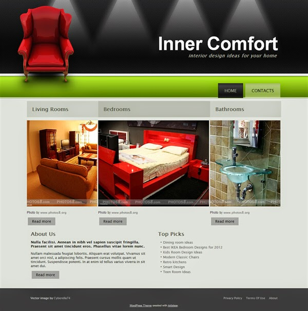 Inner Comfort- Free Wordpress Theme