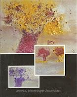 """Mes cartes postales (avec enveloppes) : """"Arbres au printemps"""""""