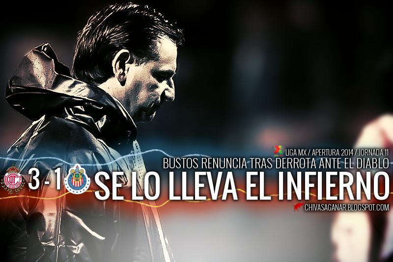 Toluca venció 3-1 a Chivas.