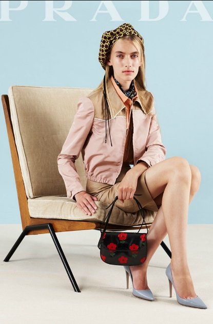 prada handbags prices - prada pouch black + lacquer red