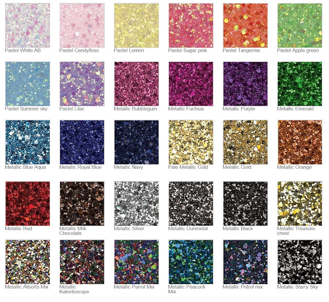 Glitter Fabric at JosyRose