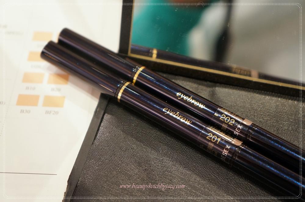 Beauty Sketch By Jacq Event Cl De Peau Beaut Brightening Makeup