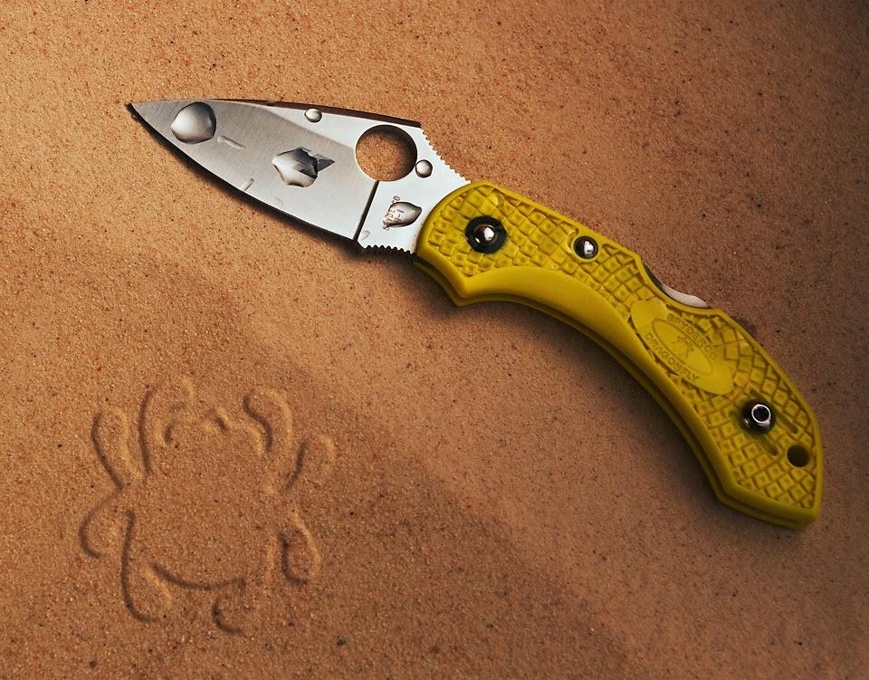 couteau à offrir pour un marin : Dragonfly Salt