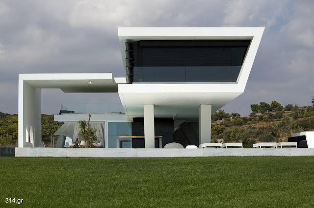 Casa residencial ultramoderna en Atenas