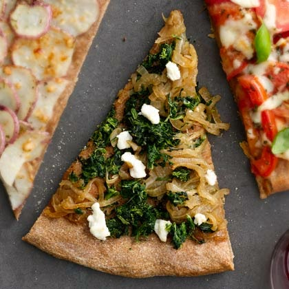 Spinach and Cheese Pizza Recipe