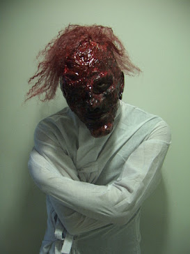 Mental Asylum Patient: Levent Can. Make-up: Ari Savonen.