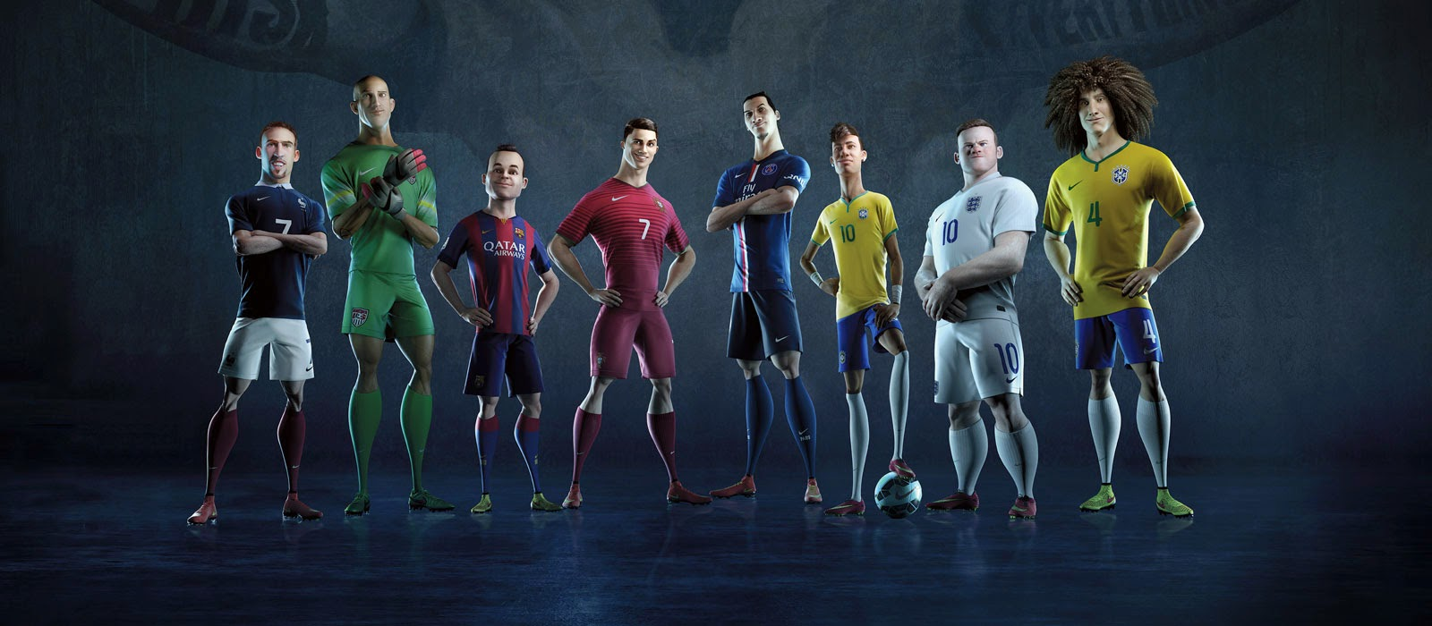 Campanha arrisque tudo: Animação da NIKE sobre futebol arte
