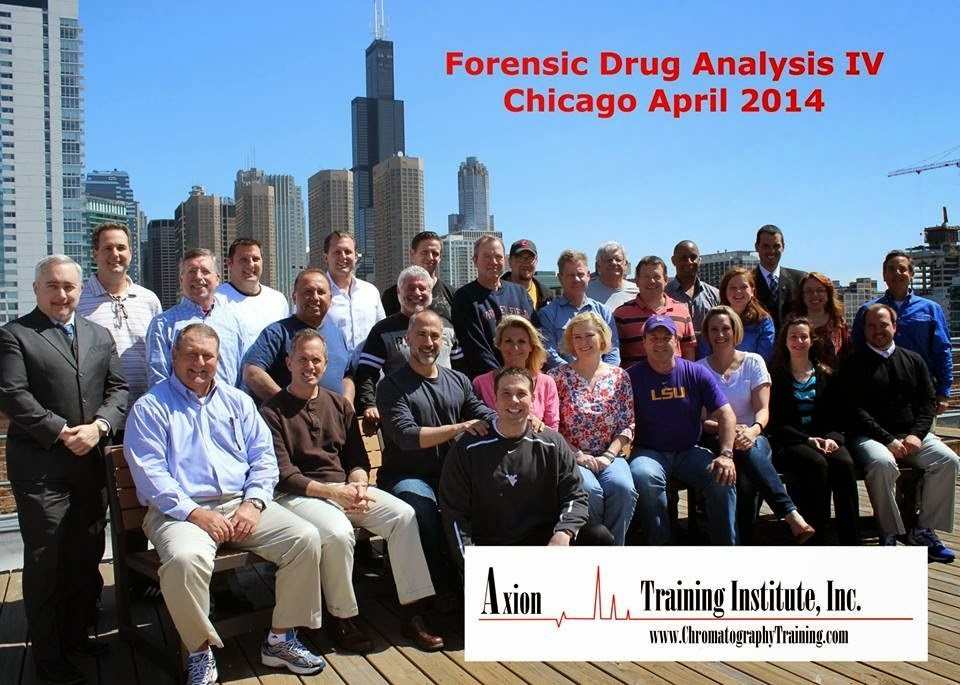 Deandra Grant at the Forensic Drug Analysis IV Training Course