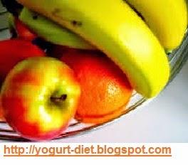رجيم الموز والتفاح