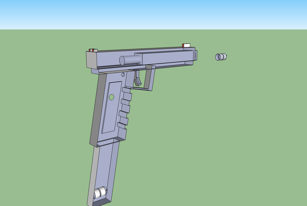 Blaster mods and more my experiments with 3d design and for Google 3d design sketchup