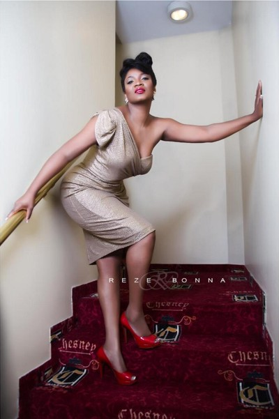 Omotola In ThisDay Magazine Pictures