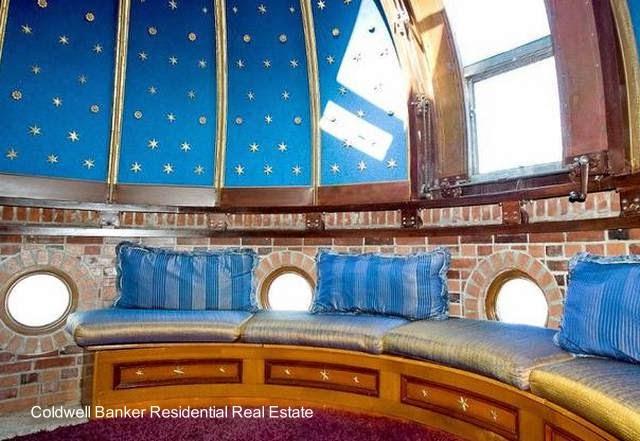 Cúpula observatorio en mansión Versace
