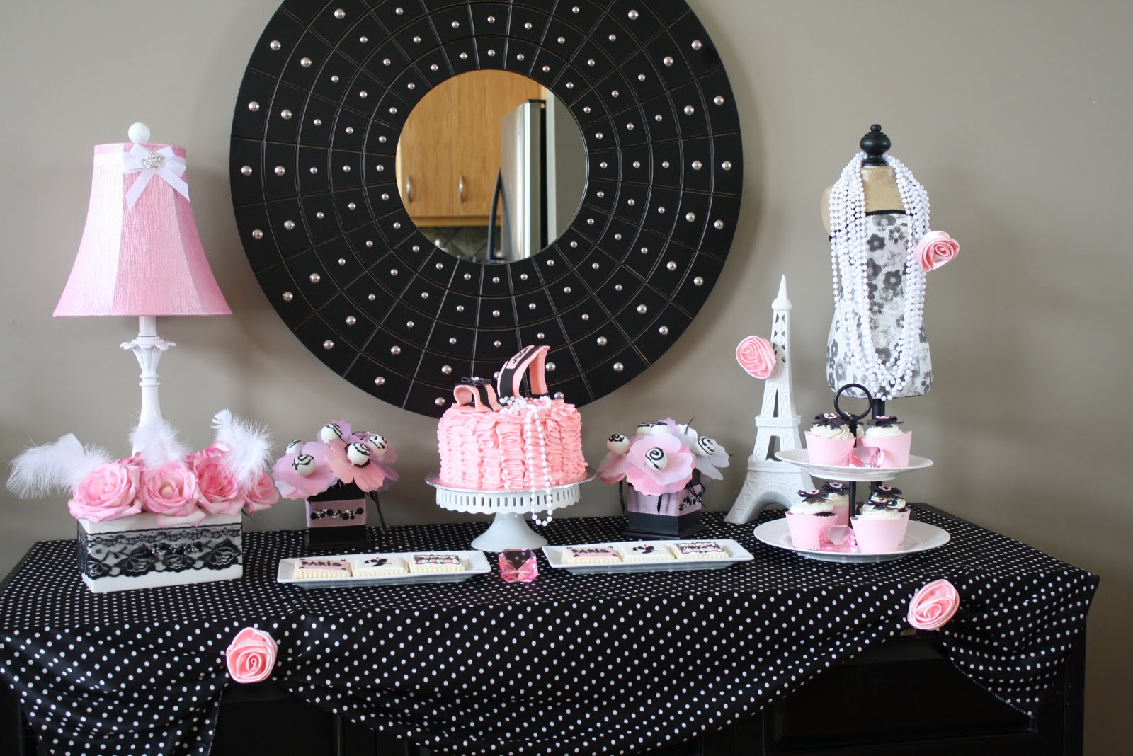Paris Themed Birthday Party Ideas - Parisian couture themed party