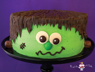 Bird On A Cake Frankensteins Monster Cake