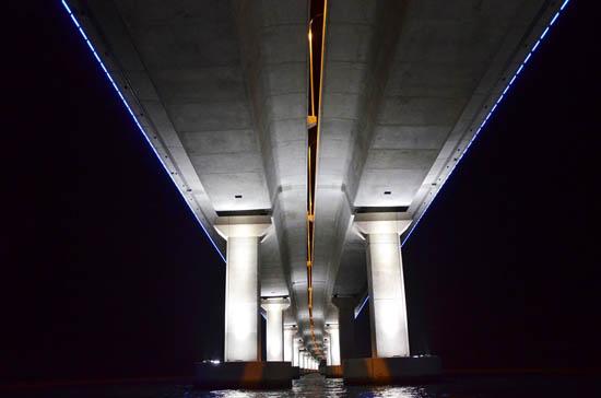 Foto cantik Jambatan Pulau Pinang Kedua