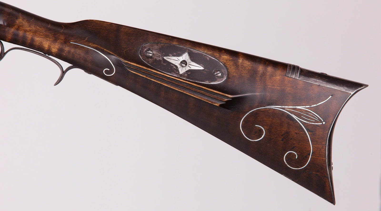 Contemporary Makers: Iron Mounted Southern Longrifle by Mark Elliott